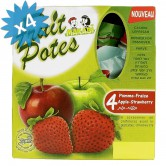 Fruit Pouches Apple & Strawberry
