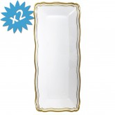 Tray Disposable Gold Small