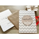 Chanukah Gift Wrapping Card