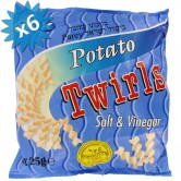 Potato Twirls Snack - Salt & Vinegar