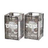 Candlesticks Crystal Square