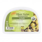 Olives Green Pitted Basil