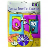 Chanukah Craft Funny Faces