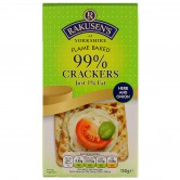Crackers 99% flame baked herbs & onions