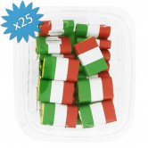 Chocolate Napolitains Flag Italy