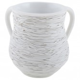 Cup Washing Polyresin Rope White
