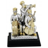 Figurine Three Hassidim On Stage