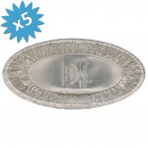Baking Pan Aluminium Oval 2lb.
