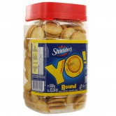 YO! Salty Crackers - Round Shapes