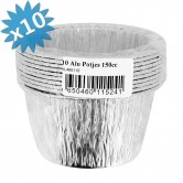 Baking Pan Aluminium Round 150ml