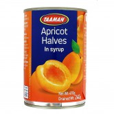 Apricot Halves in Syrup