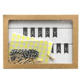 Chanukah Gift Wrapping Card to Create