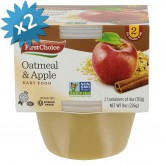 Baby Food Oatmeal Apple