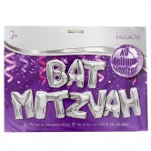 Balloon Bat Mitzvah Silver
