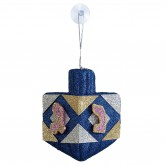 Chanukah Dreidel Glitter Decoration