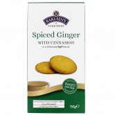 Cookies Spiced Ginger Cinnamon