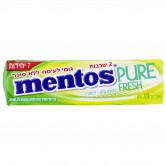 Candy Gum Sugar Free Mentos Pure Stick Melon, Lemon