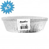 Baking Pan Aluminium Oval 1lb