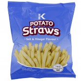 Potato Snack Straws Salt & Vinegar