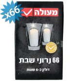 Candle Neronim Shabbat 6hrs