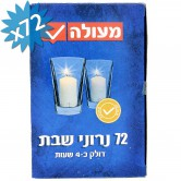 Candle Neronim Shabbat 4hrs