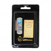 Mezuzah Car Blue