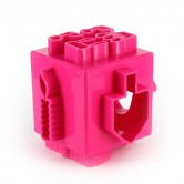 Chanukah Baking Cookie Cutter Cube Pink