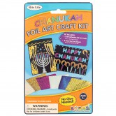 Chanukah Craft Foil Art Craft