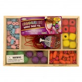 Chanukah Craft Wood Beads