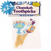 Chanukah Toothpicks