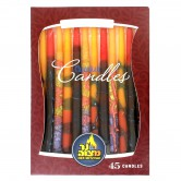 Candle Chanukah Premium Multi Colour