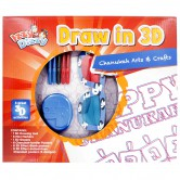 Chanukah Craft Draw 3D