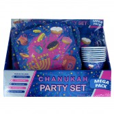 Chanukah Tableware Party Set