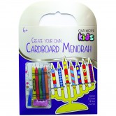 Chanukah Craft Menorah