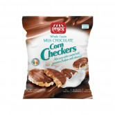 Corn Cakes Checkers Mini Coated in Milk Chocolate