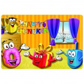 Chanukah Tableware Placemat