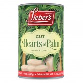 Hearts of Palm Cut