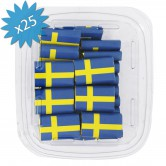 Chocolate Napolitains Flag Sweden