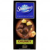 Chocolate Bar Dark - Chunky Whole Hazelnuts