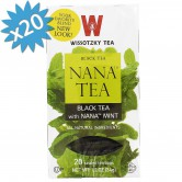 Tea Wissotzky Black Nana Mint