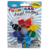 Chanukah Craft Dreidel Shaped Crayons