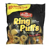 Potato Snack Ring Puffs Hot and Spicy