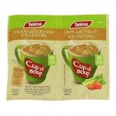 Instant soup Chicken Croutons