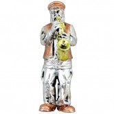 Magnet Polyresin Saxophone Player