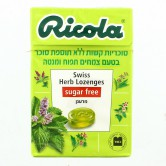 Candy Hard Dispenser Ricola Apple & Mint