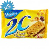 2c chocolate-cereal bar