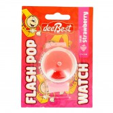 Candy Toy Watch Flash Pop Pink