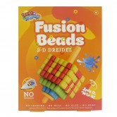Chanukah Craft Fusion Beads Dreidel 3D