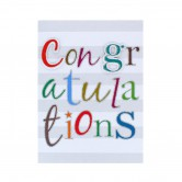 Card Greeting Congratulations