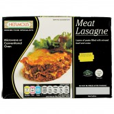 Meal Meat Lasagne Frozen